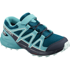 Salomon Speedcross CSWP Shoes Kids lyons blue/bluebird/navy blazer